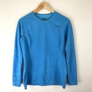 Patagonia Blue Long Sleeve Top Size Small